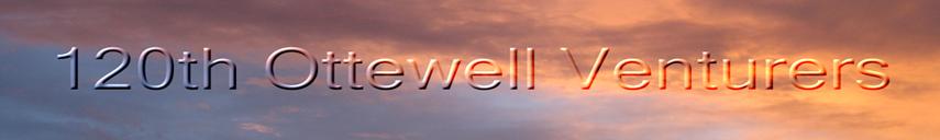 Ottewell 120th Venturer Group Banner